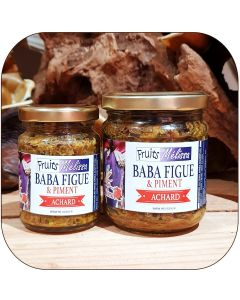 Achard Baba figue et Piment