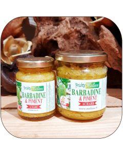 Achard Barbadine et Piment