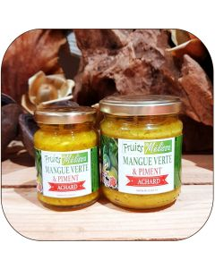 Achard Mangue verte et Piment