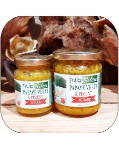 Achard Papaye verte et Piment