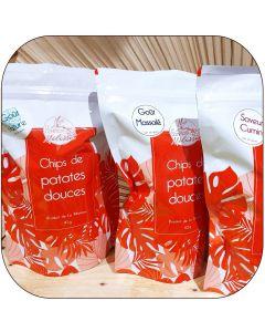 Chips de patates douces - 110g