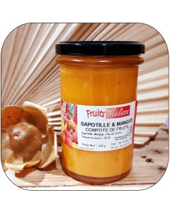Compote Sapotille Mangue - 310 g