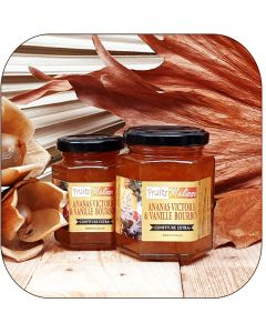 Confiture Extra Ananas Victoria et vanille Bourbon