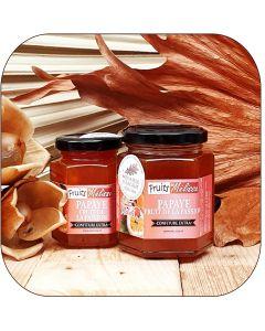Confiture Extra Papaye et Fruit de la Passion
